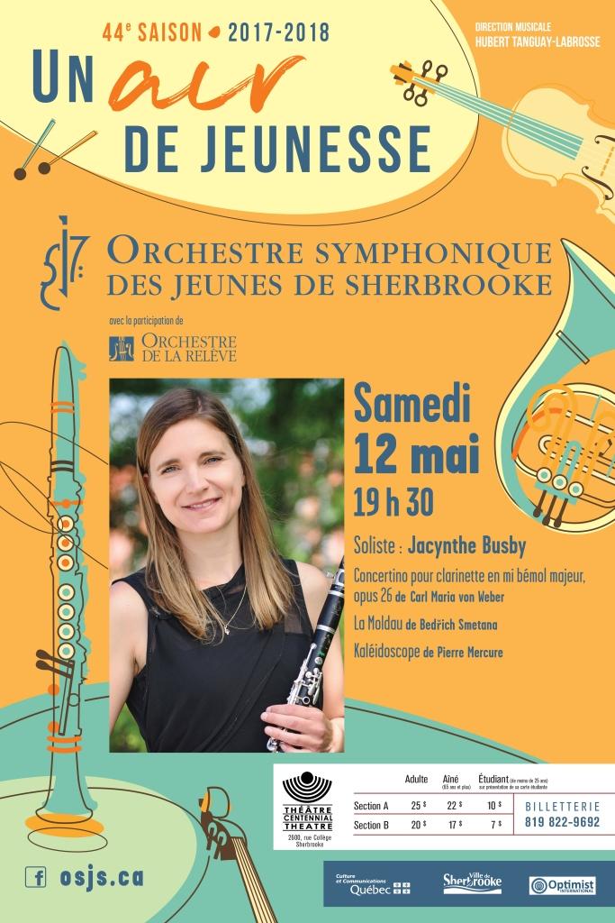 OSJS en concert – Orchestre symphonique des jeunes de Sherbrooke