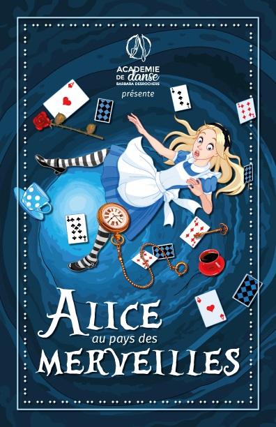 Alice au Pays des Merveilles   Spectacle annuel – Académie de danse Barbara Desrochers