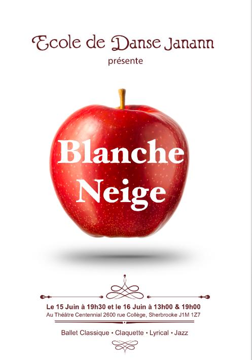 """École de danse Janann presents """"Blanche-Neige"""""""
