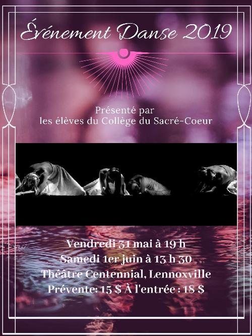 Événement Danse – Collège du Sacré-Coeur