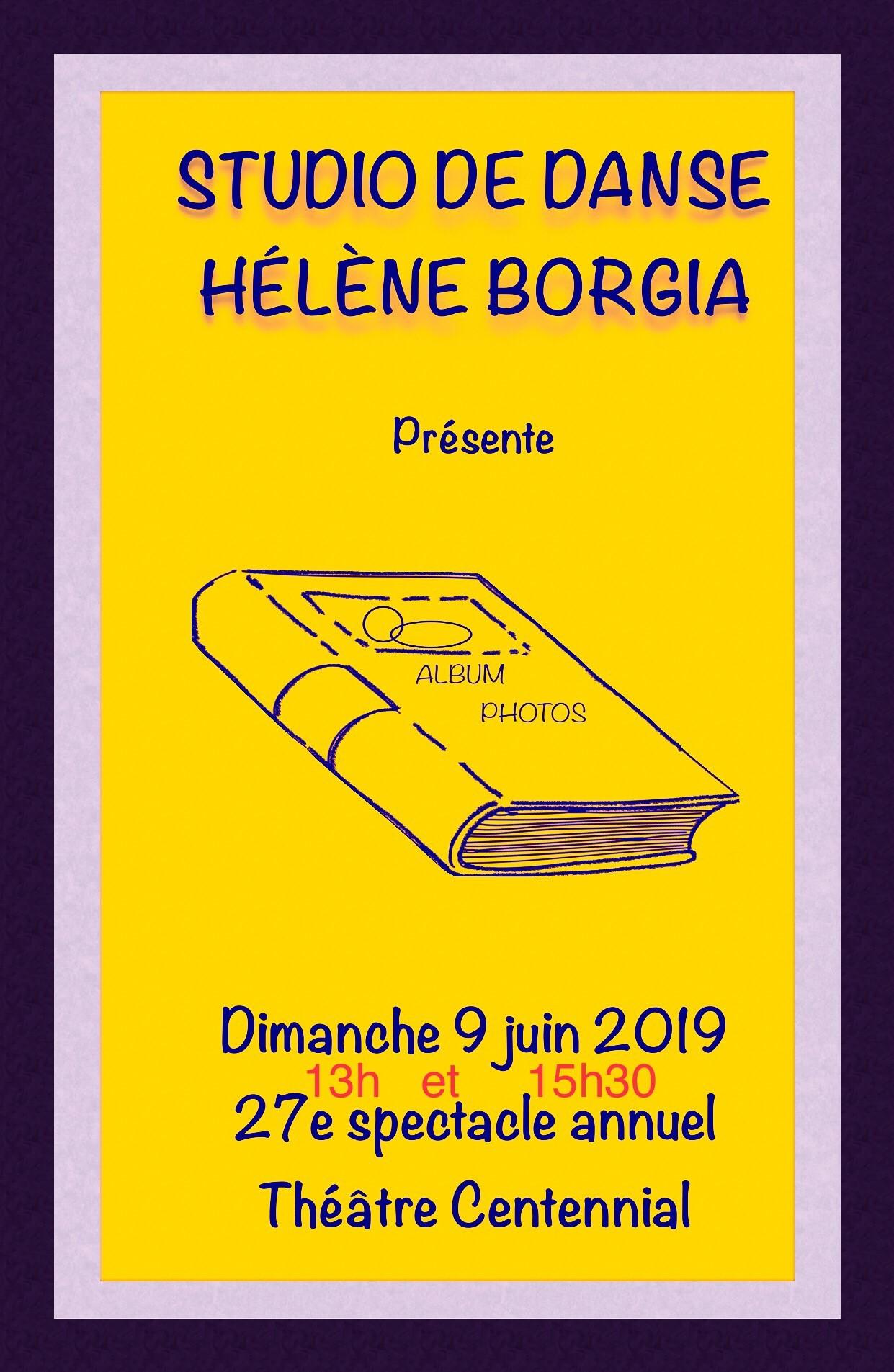 Studio de dance Hélène Borgia – L'album photo